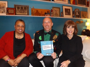 Lorraine Brooks, Mr. Divabetic and Susan Weiner RD, CDE, the author of the Complete Diabetes Organizer