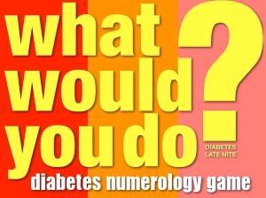 Diabetes Numerology Game