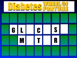 Diabetes Wheel Of Fortune